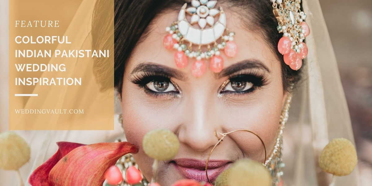 Colorful Indian Pakistani Wedding Inspiration
